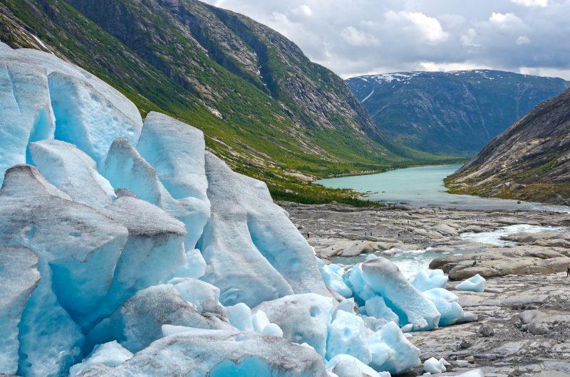 norway jostedal glacier fjord view istk
