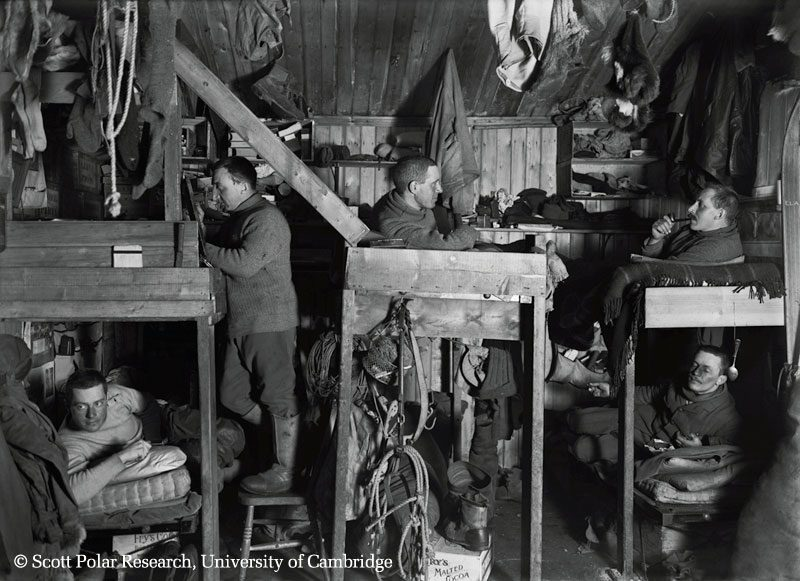 tenement bunks in hut university cambridge
