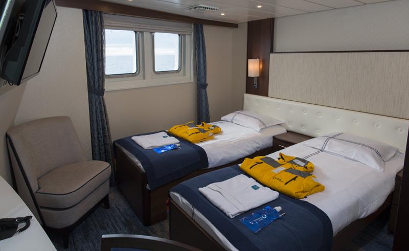 ocean adventurer twin cabin 409