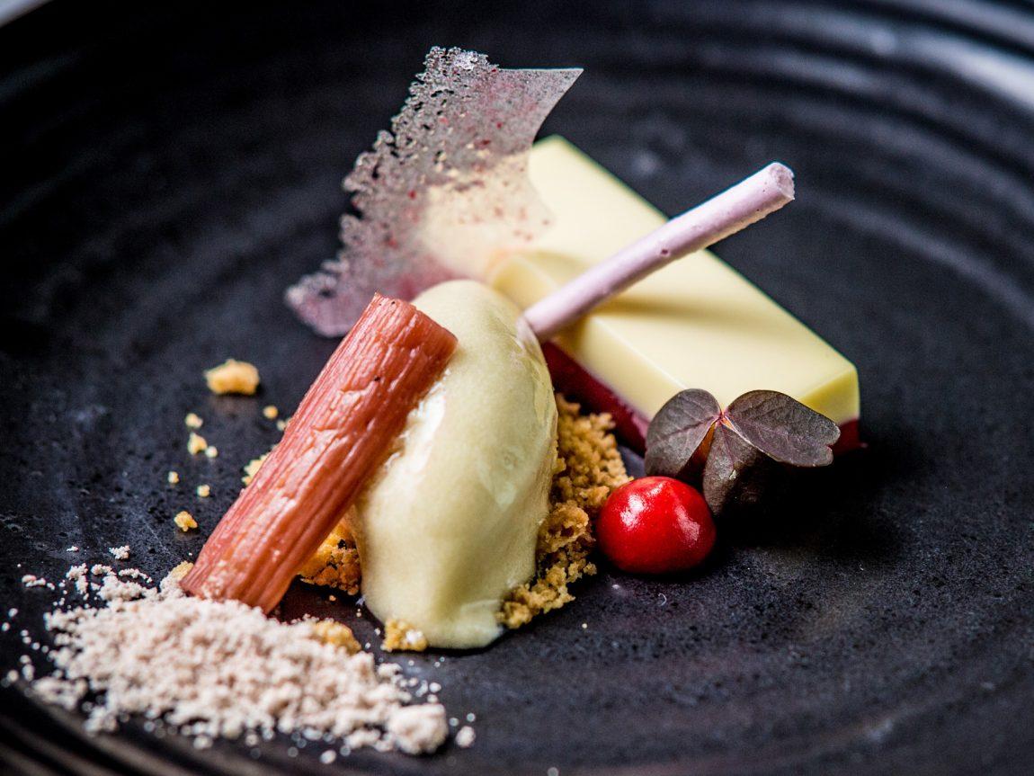 swedish lapland icehotel chefs table dessert veranda restaurant