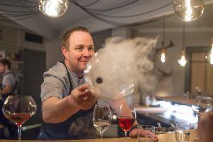 swedish lapland icehotel head chef alexander meijer chefs table veranda restaurant
