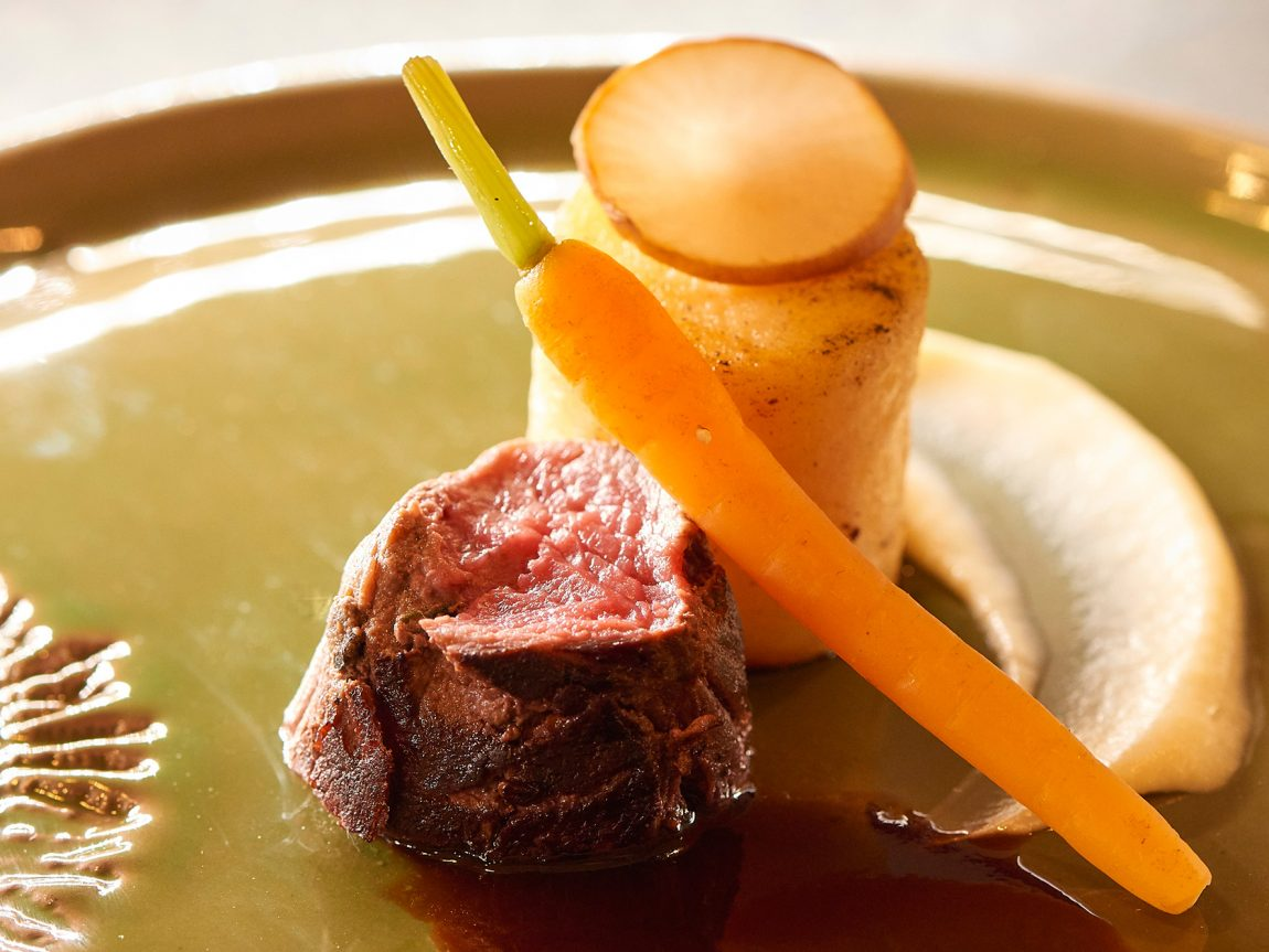 swedish lapland icehotel moose chefs table veranda restaurant