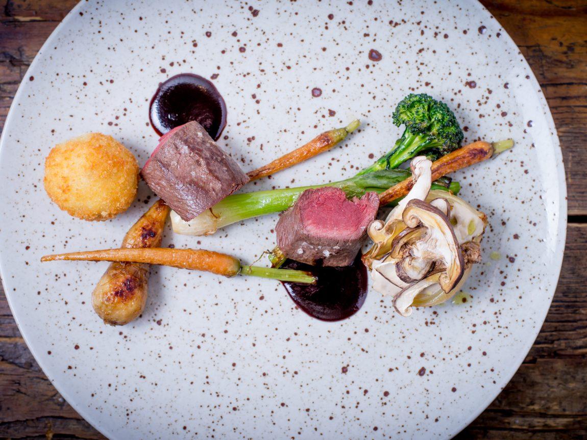 swedish lapland icehotel steak chefs table veranda restaurant