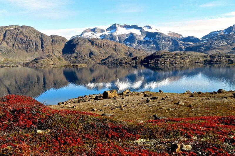 east greenland autumn colours near tasiilaq ch