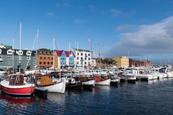 faroe islands torshavn harbour istk