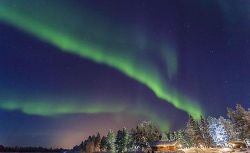 finland lapland muonio northern lights vf