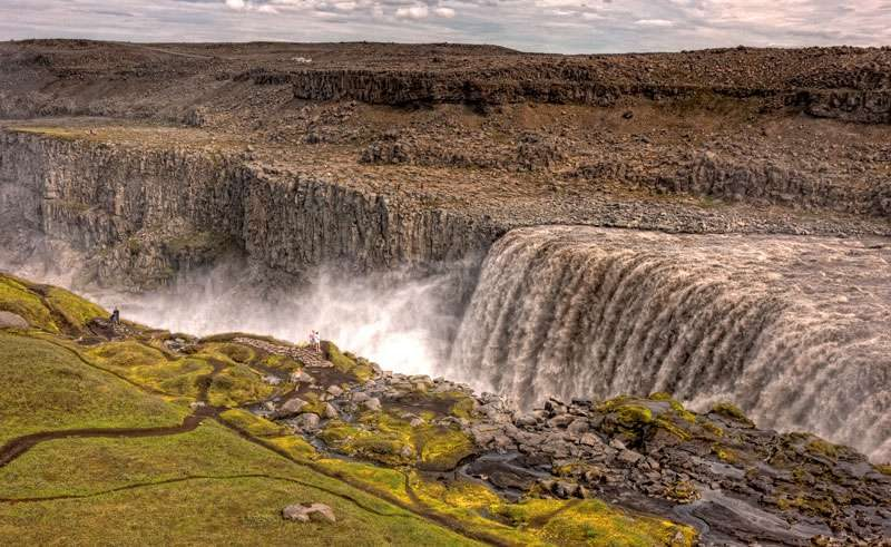 iceland north east dettifoss and canyon rth