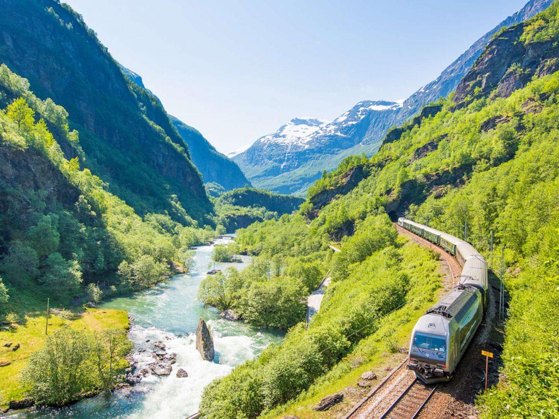 norway fjords flam railway signature shot vflm sh