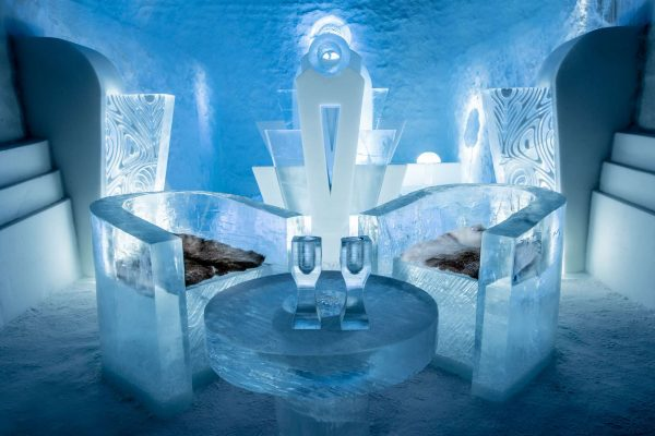 sweden lapland icehotel 365 deluxe suite ak
