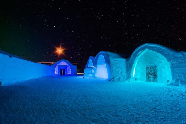 sweden lapland icehotel and chapel exterior rth