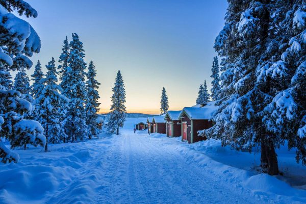 sweden lapland icehotel chalet exteriors rth