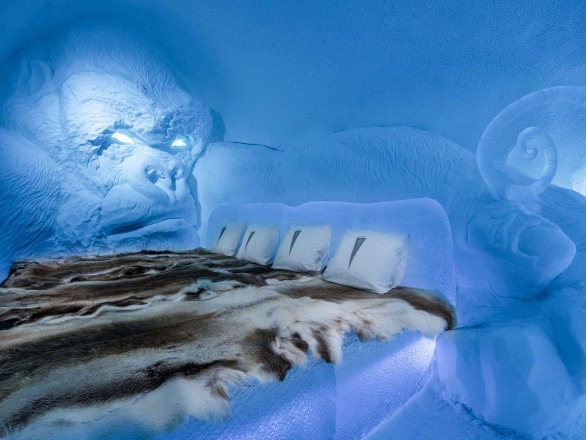 swedish lapland icehotel28 art suite king kong