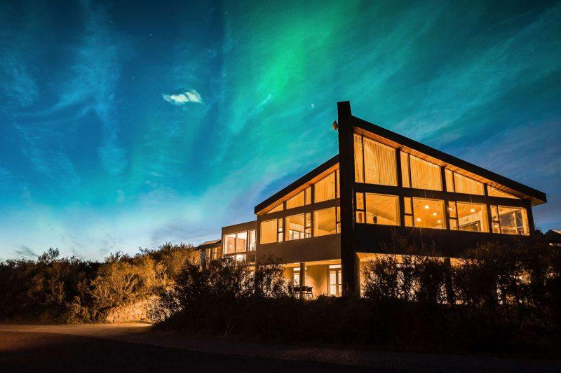 west iceland hotel husafell northern lights