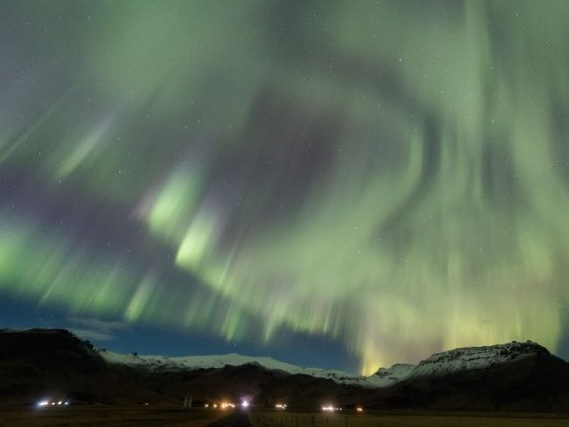aurora near hotel ranga iceland 5 nov 2018 sb