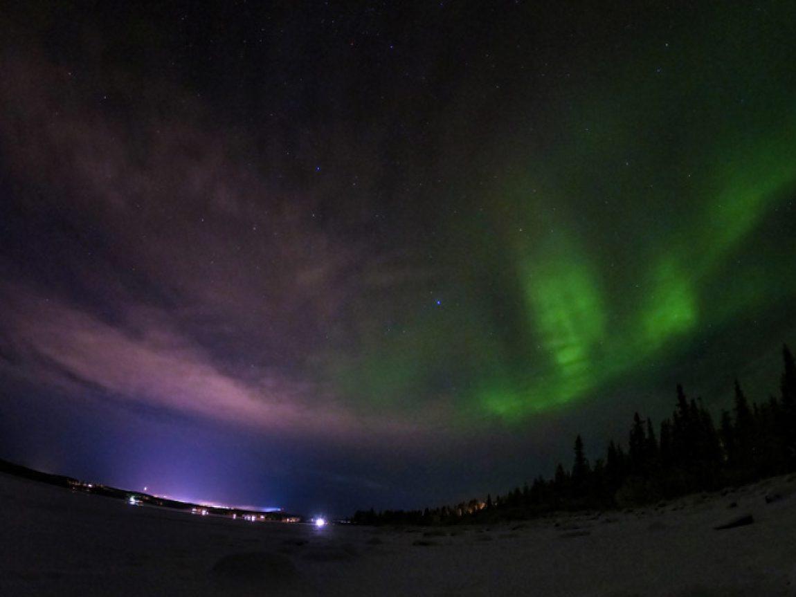aurora over camp ripan sweden 05 nov 18