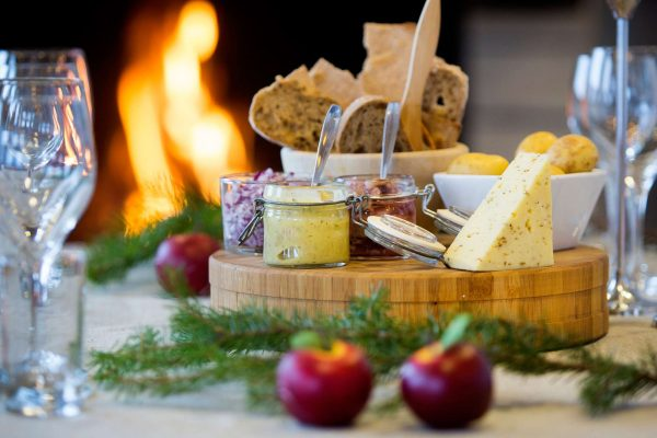 swedish lapland ripan festive nibbles cr bw