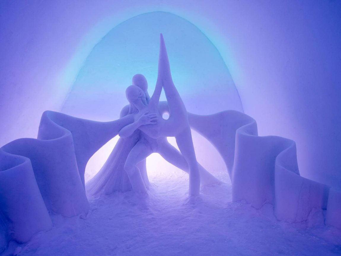 swedish lapland icehotel29 art suite dancing auroras ak