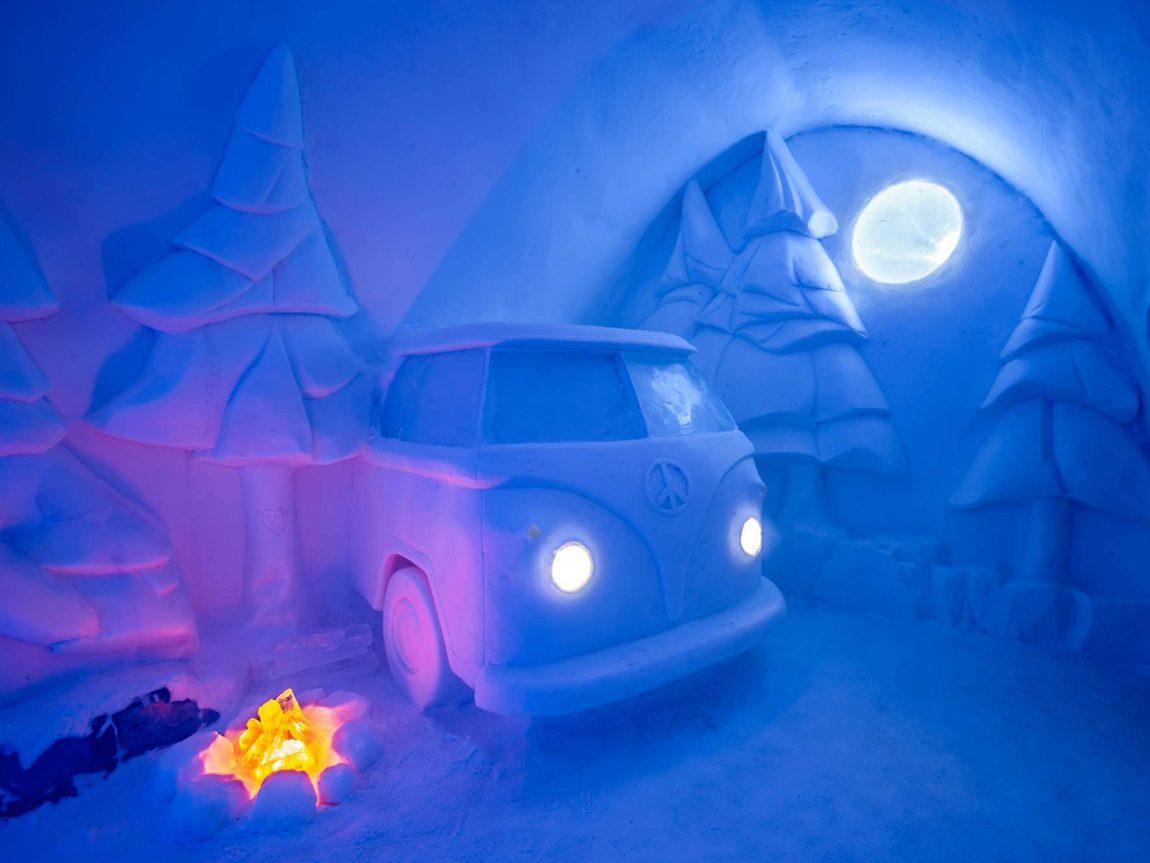 swedish lapland icehotel29 art suite spruce woods ak