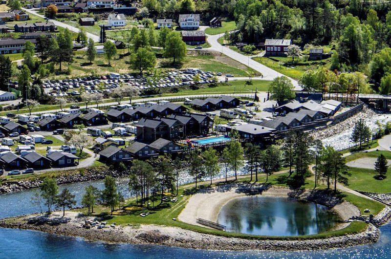 hardangertun aerial view 2
