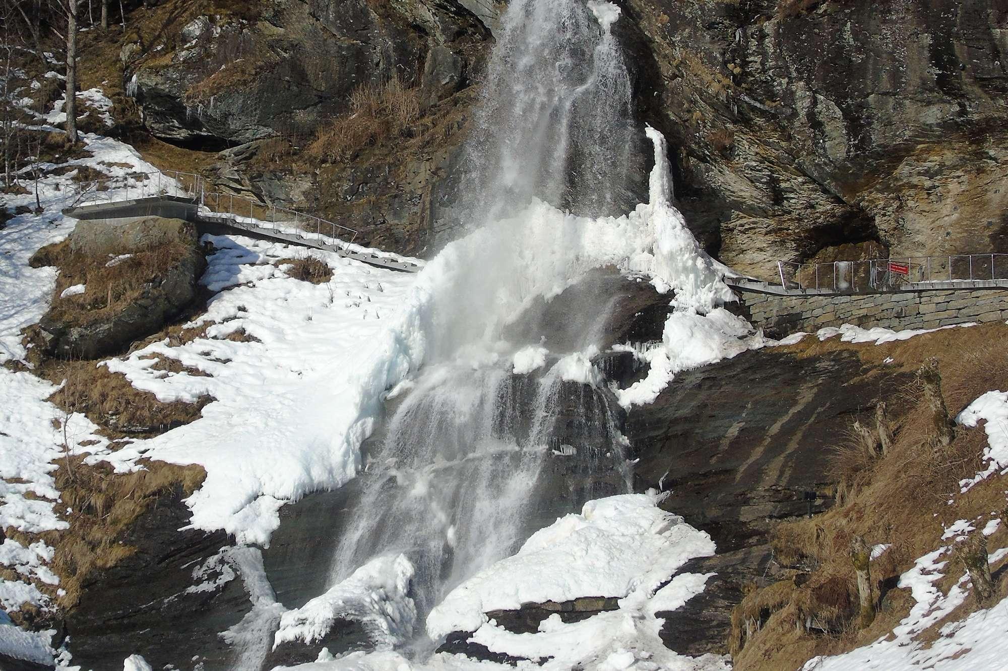norway Steindalsfossen