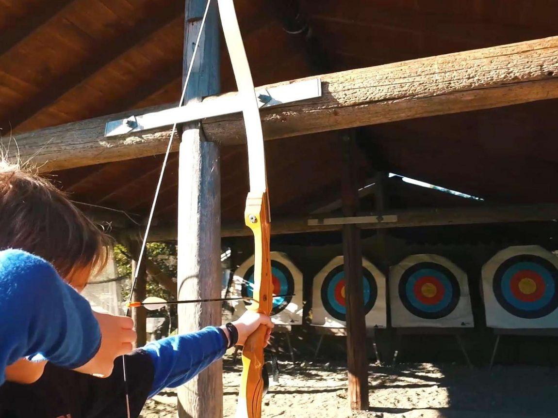 norway archery closeup