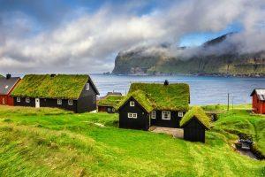 faroe islands kalsoy mikladalur village istk