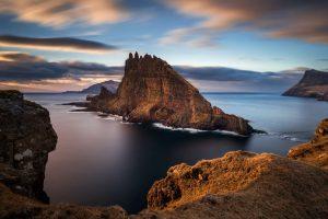 faroe islands vagar tindholmur istk