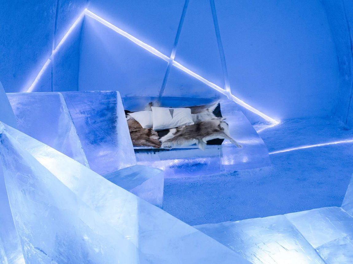 icehotel 29 art suite differential expansion ak