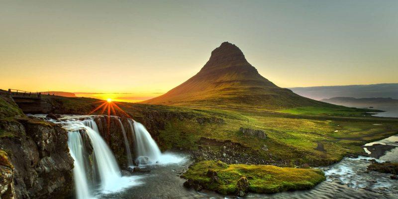 iceland snaefellsnes kirkjufell beautiful sunset istk