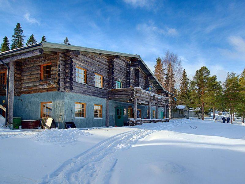 swedish lapland brandon lodge winter view gr