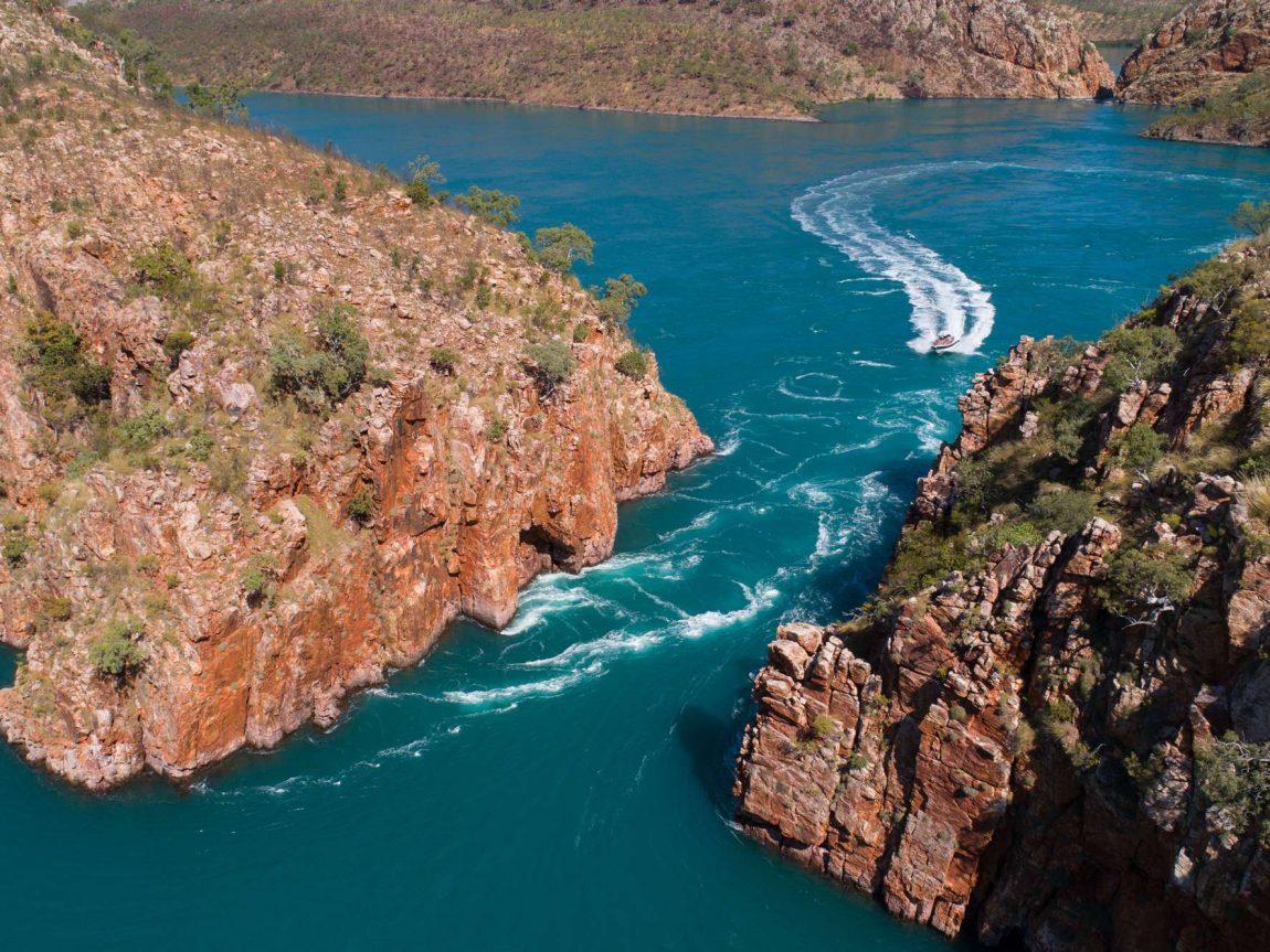 western australia kimberley boat trip horizontal falls istk