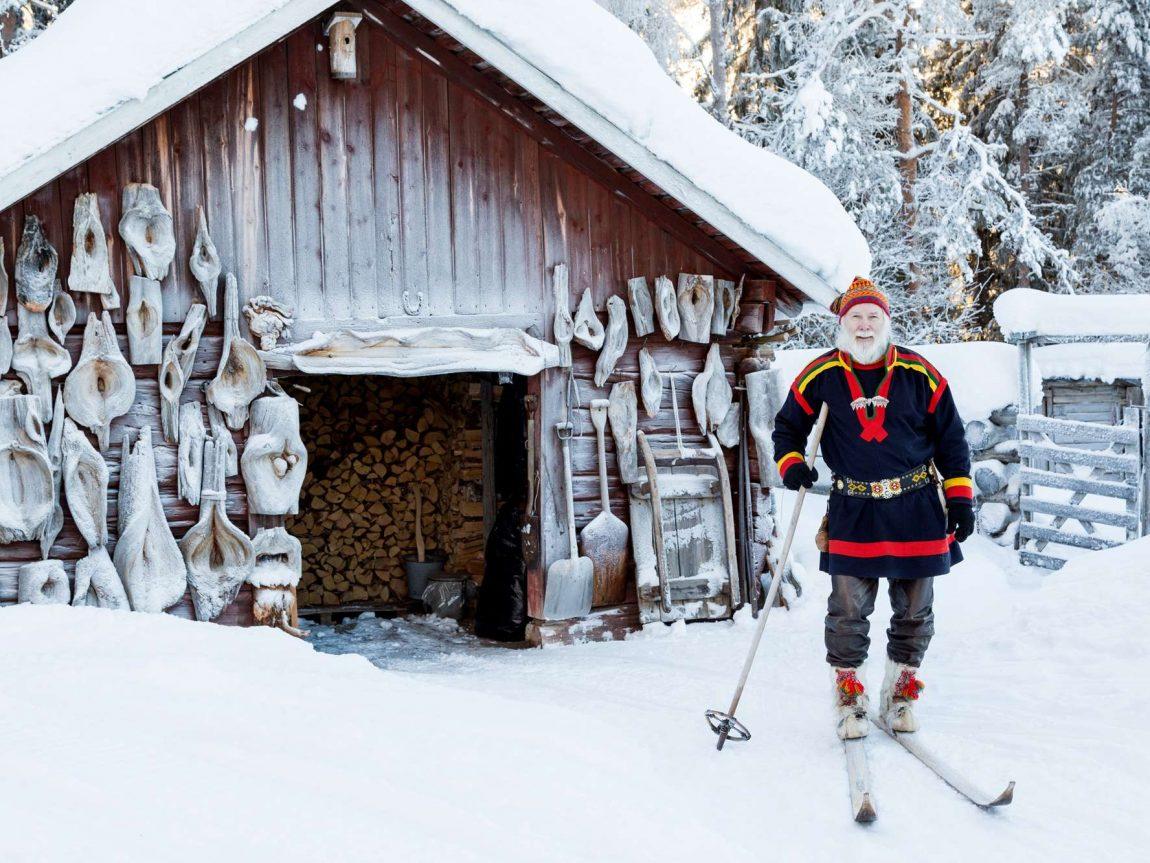 swedish lapland loggers lodge meet the sami