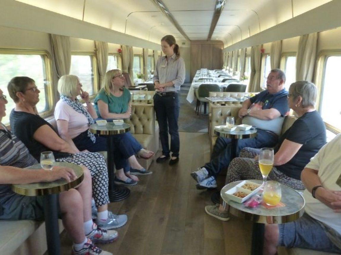 australia platinum carriage indian pacific train liz 1