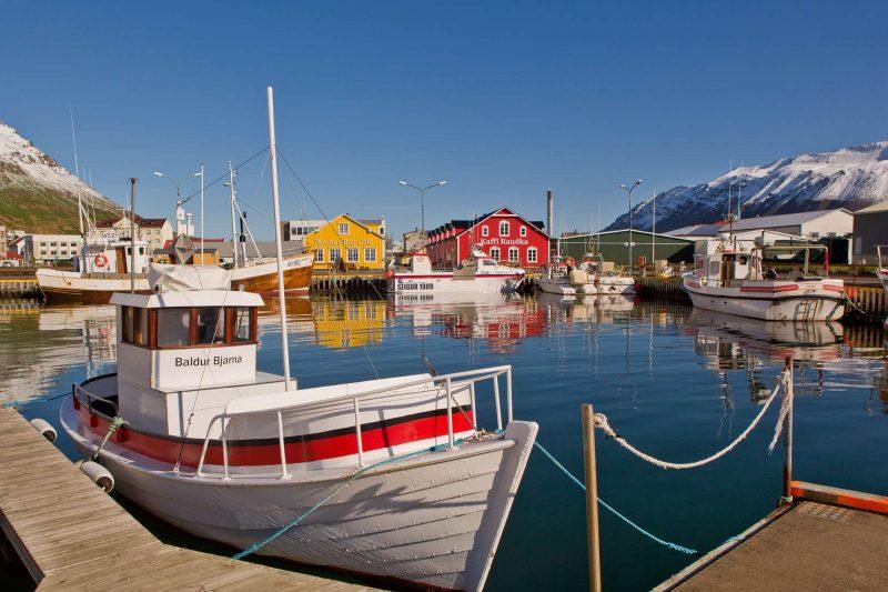 iceland north siglufjordur view rth