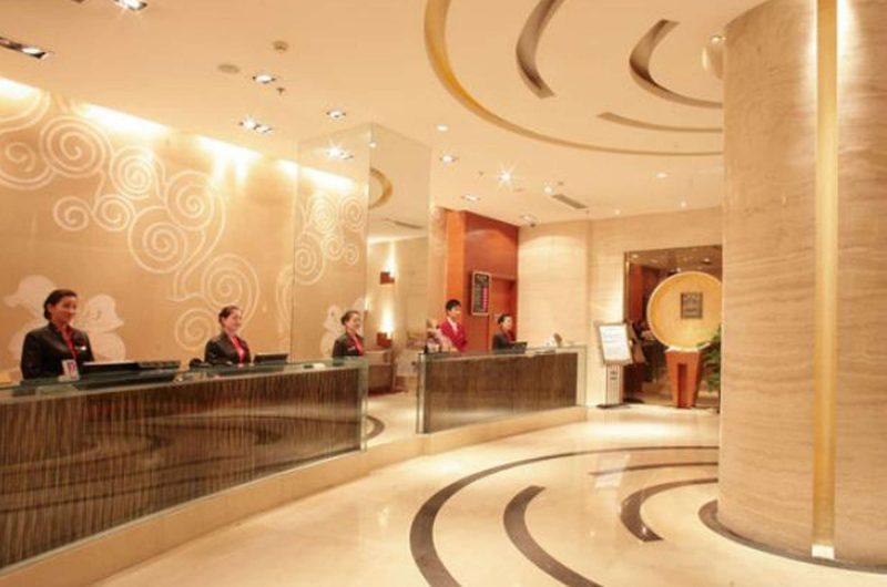 edu china hotel Feitian lobby