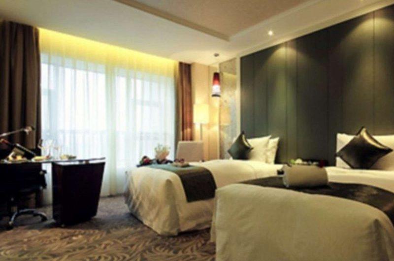 edu china hotel chengdu bedroom