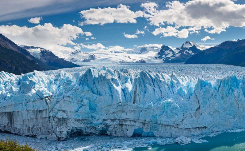 argentina patagonia perito moreno glacier panorama istk