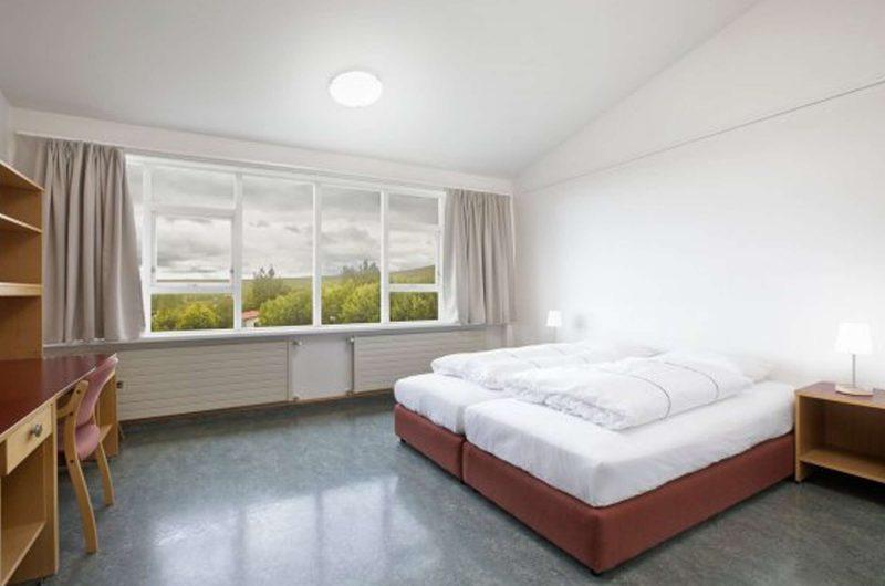 edu iceland hotel IKI bedroom