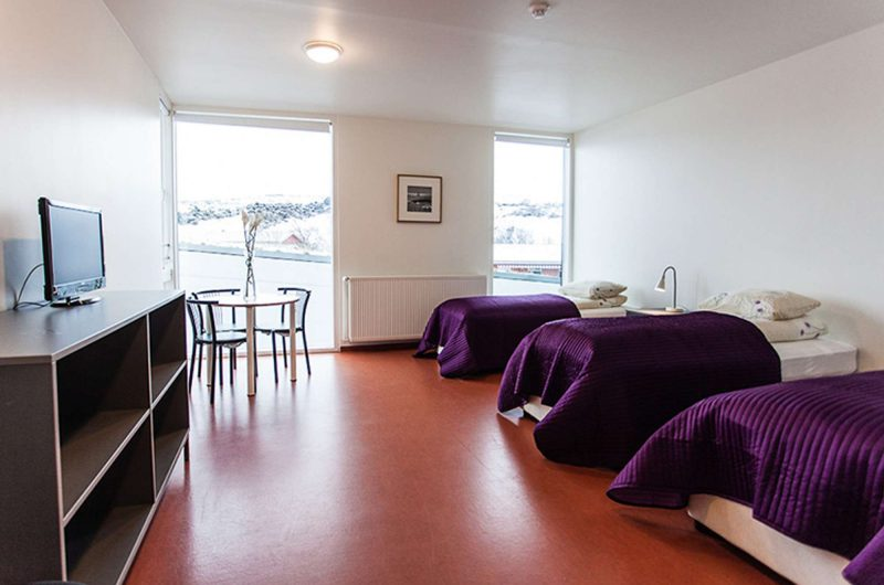 edu iceland hotel bifrost bedroom