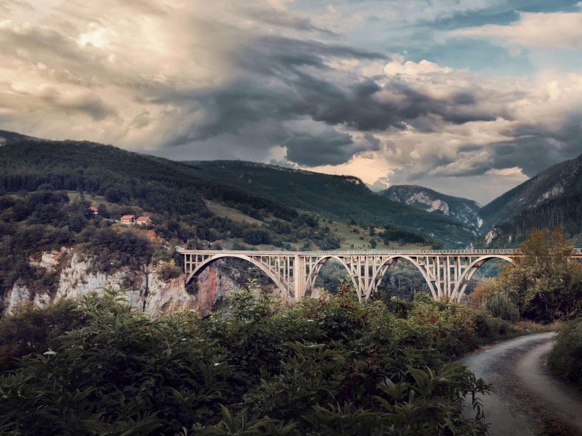 edu montenegro djurdjevica tara bridge