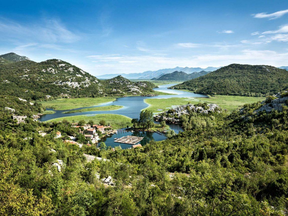 edu montenegro karuc village lake skadar lake