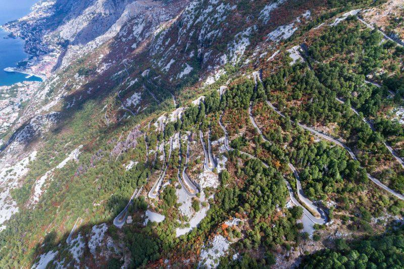 edu montenegro lovcen serpentine road