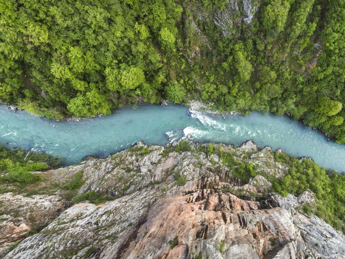 edu montenegro tara river aerial