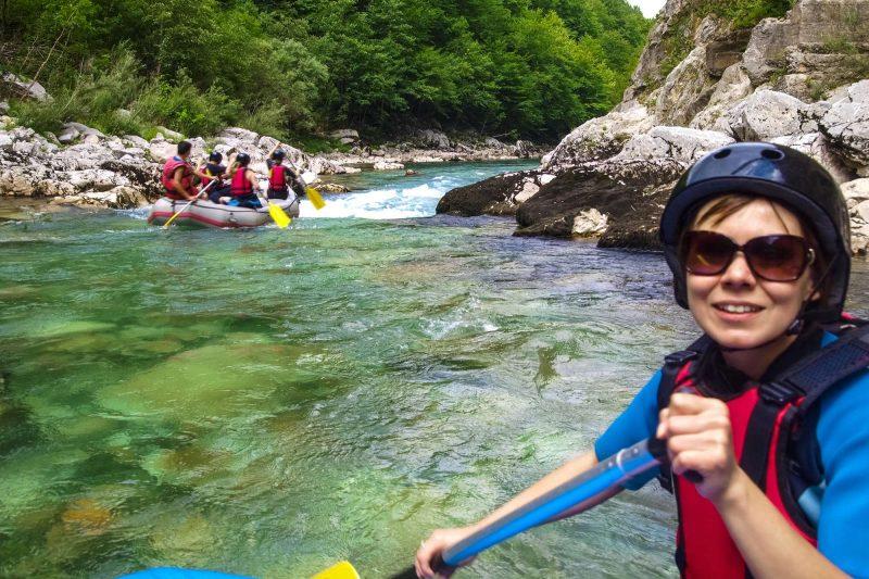 edu montenegro white water rafting river tara