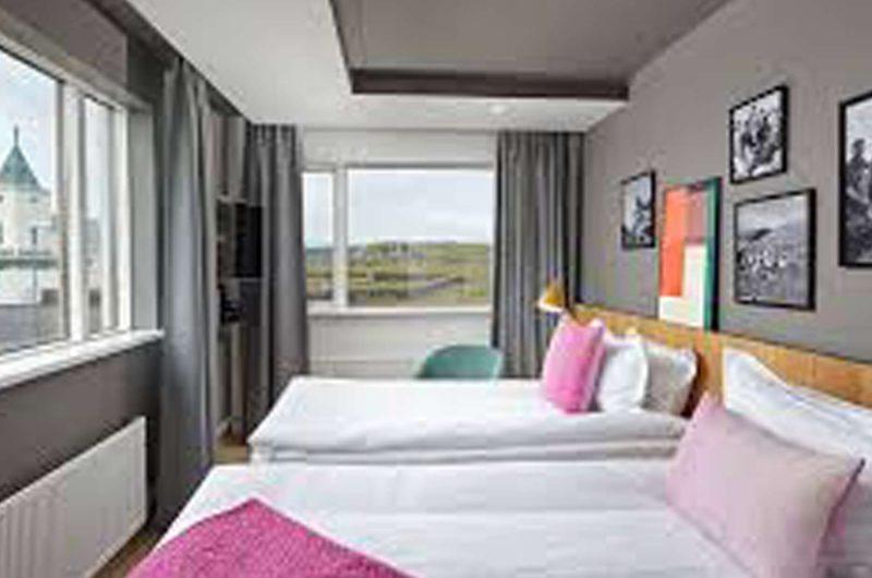 edu iceland hotel Myvatn bedroom