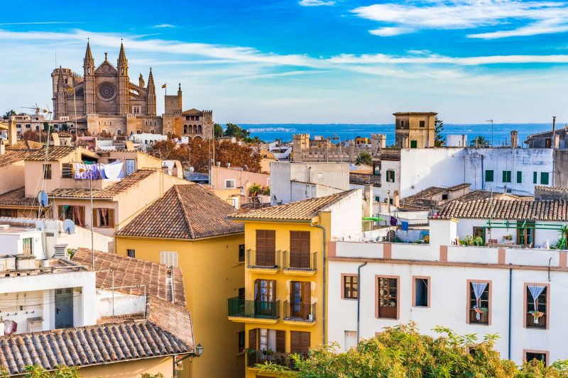 edu mallorca palma city centre and cathedral