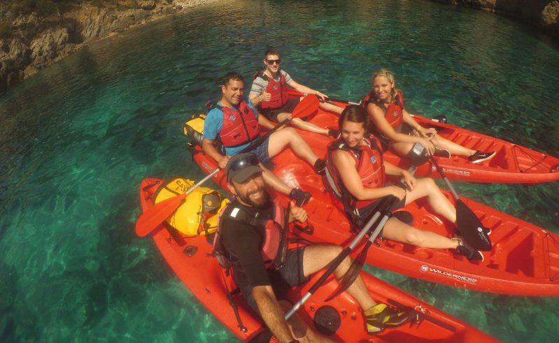 edu mallorca sea kayaking