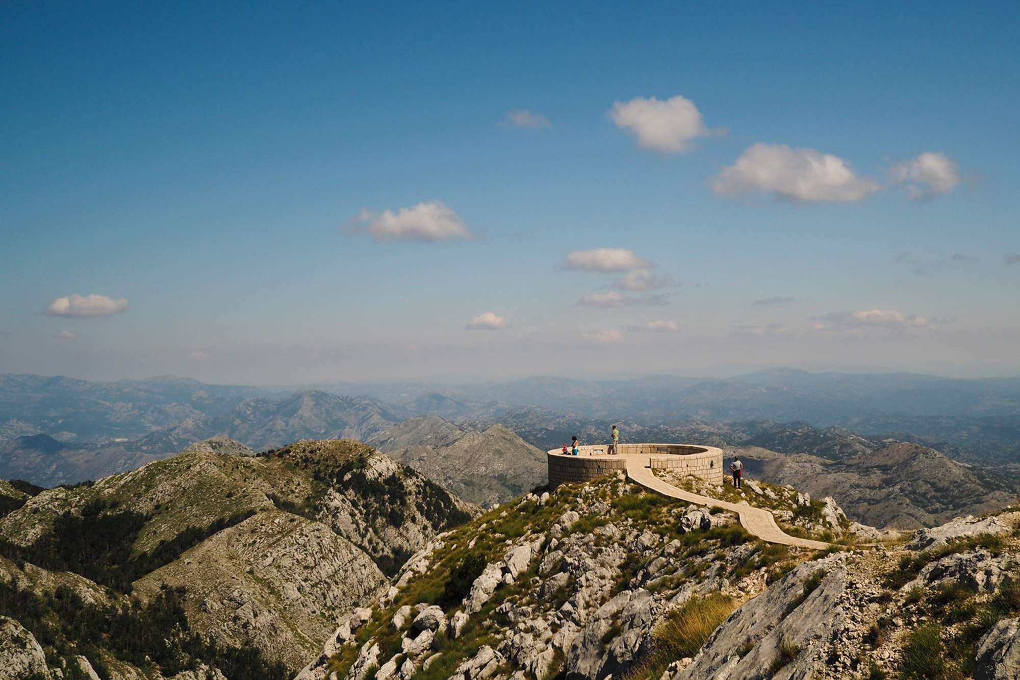 edu montenegro lovcen view tourists