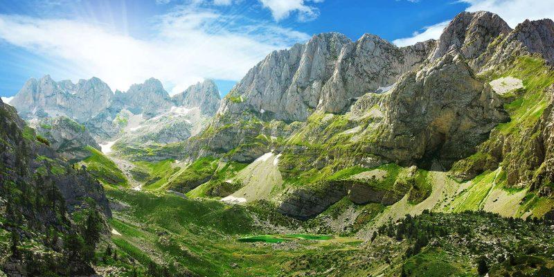 edu montenegro prokletije national park aerial view