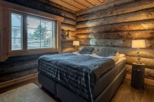 finnish lapland nellim kasari log cabin
